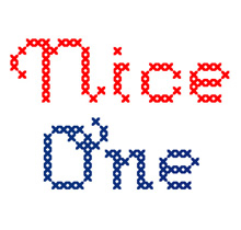 Crossstitch font