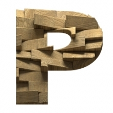 Abstract blocks font