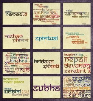 HelloFont - Fonts - Ananda Namaste