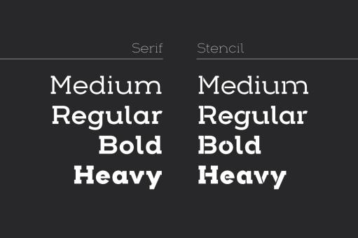 HelloFont - Fonts - Arkibal Serif