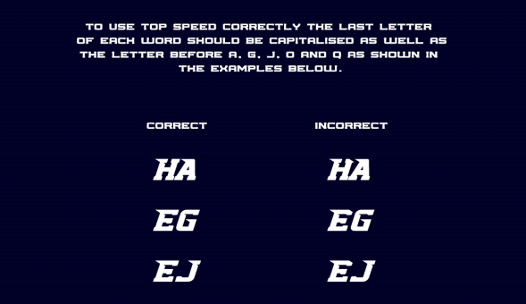 Top Speed Free Font